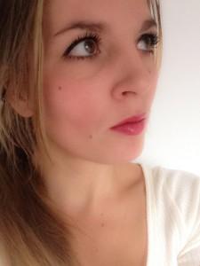 Het effect van de blush met daglicht